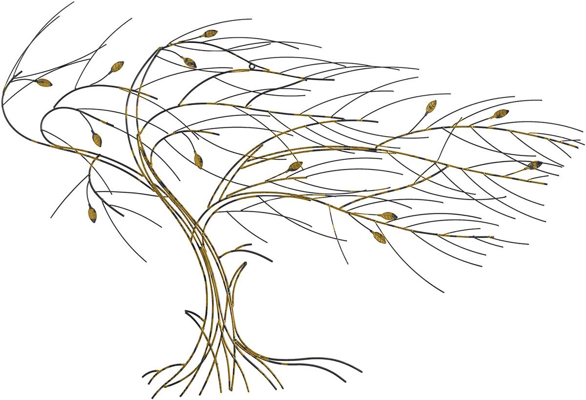 Golden Spiral in TREE in WIND
