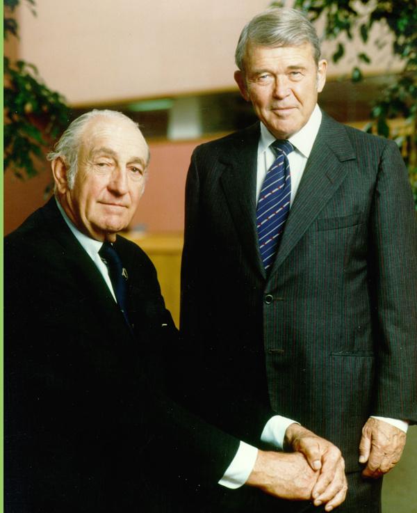 Bill Hewlett, David Packard