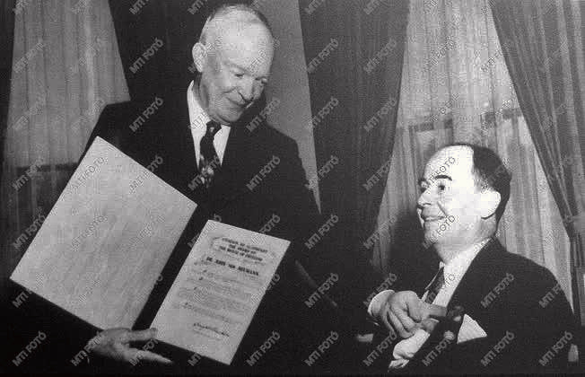John von Neumann & Eisenhower 1956