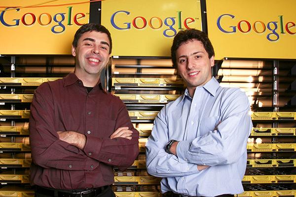 Larry Page & Sergey Brin