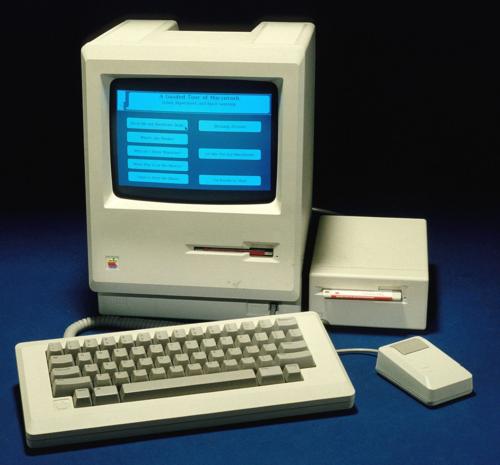 Macintosh with GUI