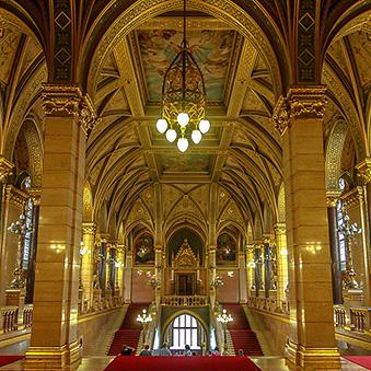In Hungarian Parliament