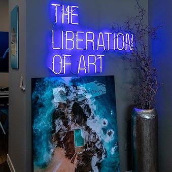 In Lumas Gallery Budapest
