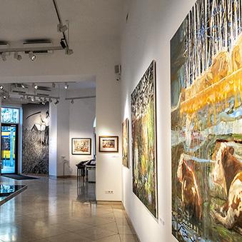 Exhibition of Imre Bukta