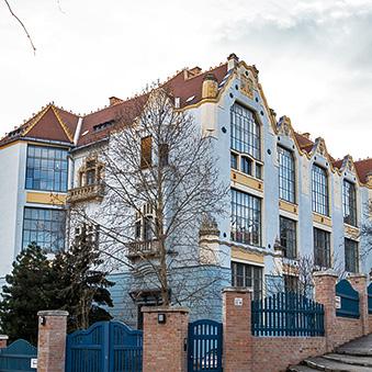 Art Nouveau House of Artists on Gellért Hill