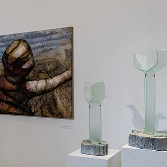 Exhibition of Anna Karajz and Geza Nemeth