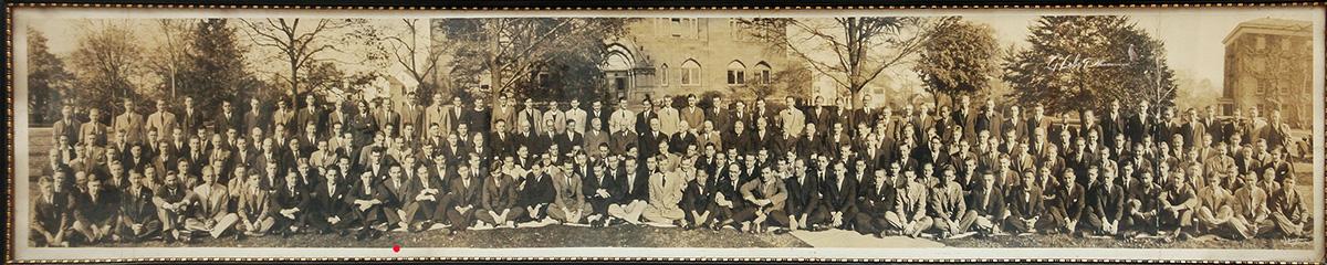 Univ. students in Dayton, Ohio, 1933